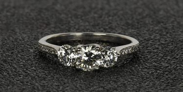 A Guide to Three Stone Engagement Rings